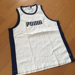 プーマ(PUMA)のプーマ タンクトップ メンズ 白(タンクトップ)