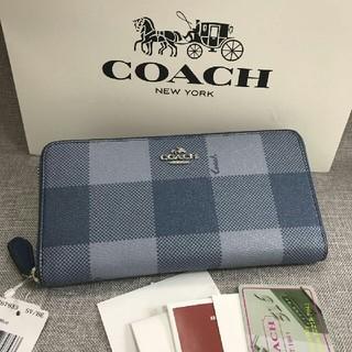COACH - YKK製ファスナー COACH 長財布 F67933