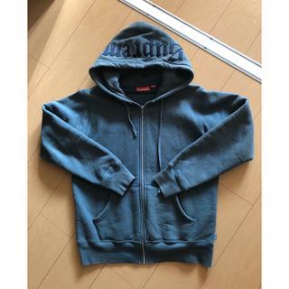 シュプリーム(Supreme)のsupreme zip up sweatshirt(パーカー)