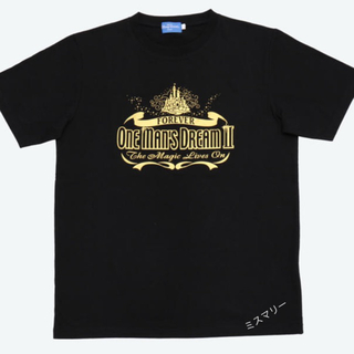 Disney - Lサイズ 新品 ワンマンズドリーム ワンマン Tシャツ ラクマパック匿名 追跡可