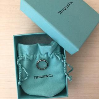 ティファニー(Tiffany & Co.)のTiffany ティファニー PT950 1P ダイヤモンド 7号 リングバンド(リング(指輪))
