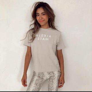 アリシアスタン(ALEXIA STAM)のalexiastam 2019年pop up限定Tシャツ(Tシャツ(半袖/袖なし))