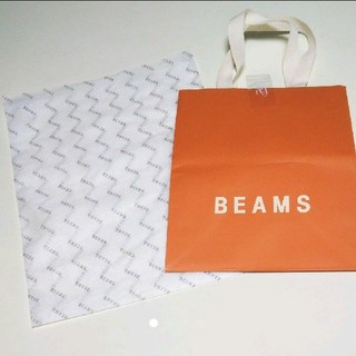 BEAMS - BEAMSビームス ショップ紙 紙袋