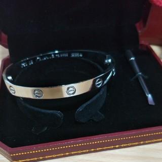 Cartier - 超人気Cartier カルティエ ブレスレット ラブブレス 19cm