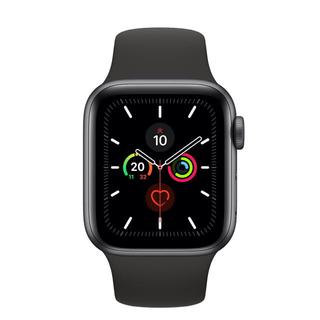 Apple Watch - Apple Watch 5 スペースグレイアルミニウムケースとスポーツバンド