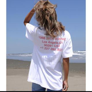アリシアスタン(ALEXIA STAM)の即完売 alexiastam Tシャツ(Tシャツ(半袖/袖なし))
