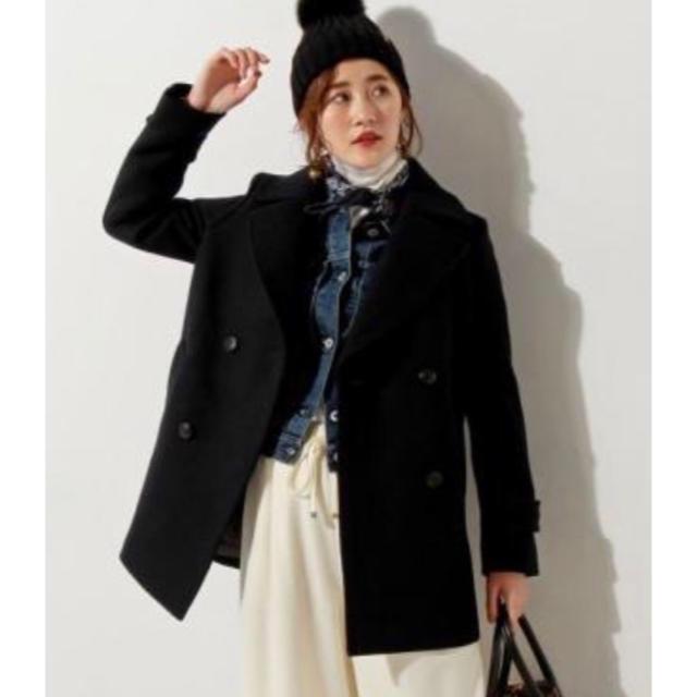UNITED ARROWS(ユナイテッドアローズ)のユナイテッドアローズ  コート レディースのジャケット/アウター(ピーコート)の商品写真