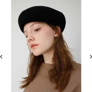 マウジー(moussy)のMOUSSY  BASIC BERET  (ハンチング/ベレー帽)