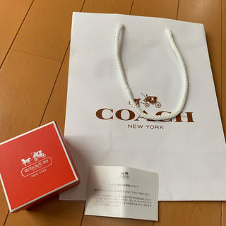 コーチ(COACH)のコーチ 紙袋、アクセサリー入れ(ショップ袋)