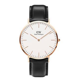 ダニエルウェリントン(Daniel Wellington)の【40㎜】ダニエル ウェリントン 腕時計DW00100007〈3年保証付〉(腕時計(アナログ))