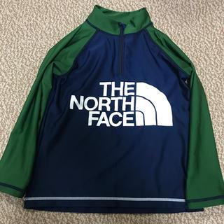 ザノースフェイス(THE NORTH FACE)のノースフェイス サンシェードハーフジップアップ ラッシュガード  120サイズ(水着)