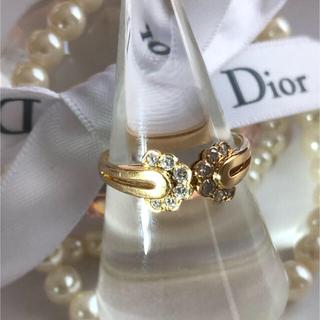 クリスチャンディオール(Christian Dior)のK18 Diorダイヤリング(リング(指輪))