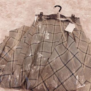 フレイアイディー(FRAY I.D)のfray id  チェックツィードスカート(ロングスカート)