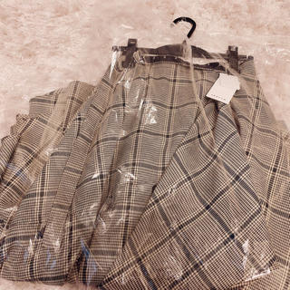 fray id  チェックツィードスカート