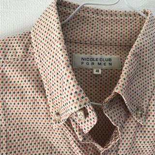 ニコルクラブフォーメン(NICOLE CLUB FOR MEN)のNICOLE デザインシャツ(シャツ/ブラウス(長袖/七分))