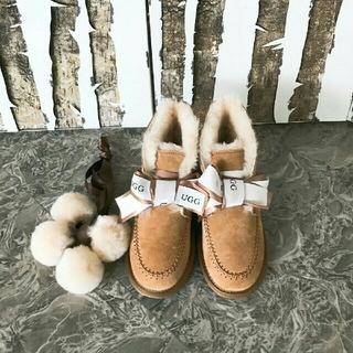 アグ(UGG)の限定セール!♡UGG♡Kallen リボンが可愛い ショートブーツ 正規品(ブーツ)