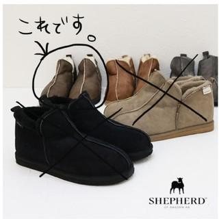 シェパード ムートン ショート ブーツ(ブーツ)