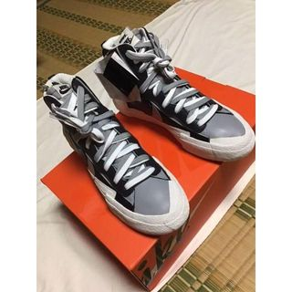 Nike Sacai BLAZER MID 25.5cm(スニーカー)