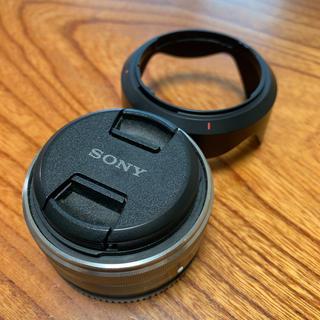 ソニー(SONY)のSONY E-mount 単焦点  SEL16F28  パンケーキ  ミラーレス(レンズ(単焦点))