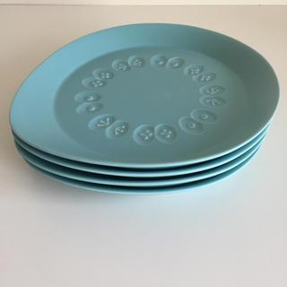 mina perhonen - ミナペルホネン choucho blue おおきなうつわ4枚 未使用