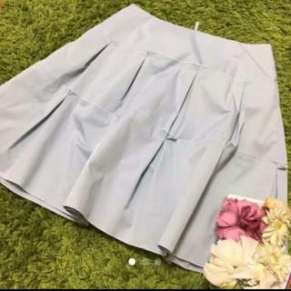フォクシー(FOXEY)の美品フォクシー レディストレッチスカート(ひざ丈スカート)