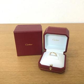 カルティエ(Cartier)の美品 カルティエ バンドリング ダイヤリング  指輪 ☆ティファニー アーカー(リング(指輪))