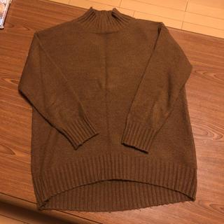 GU - タートルネック セーター あたたかいですよ