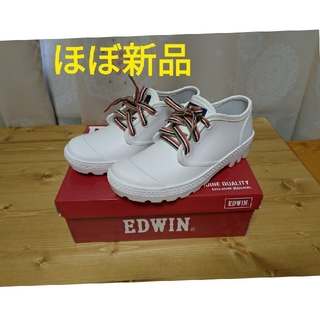 エドウィン(EDWIN)の【試着のみ】EDWIN レインスニーカーL/23.5-24.0cm(レインブーツ/長靴)