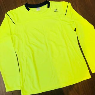 ミズノ(MIZUNO)の即完売品 ミズノ 長袖 シャツ ランニング テニス ジム ヨガ ゴルフ(Tシャツ/カットソー(七分/長袖))