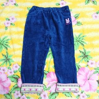 mikihouse - ミキハウス(HOT.B)♥コーデュロイパンツ♥紺色♥100cm