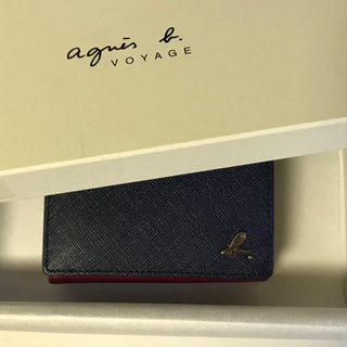 アニエスベー(agnes b.)のagnes b.二つ折り財布 (折り財布)