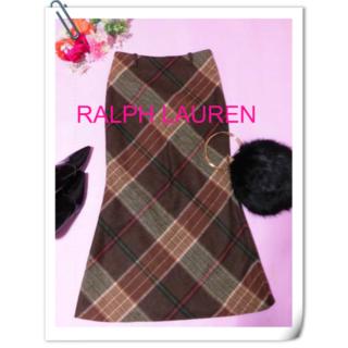 Ralph Lauren - 【ラルフローレン】マーメイドスカート☆チェック☆マキシ丈ロング丈
