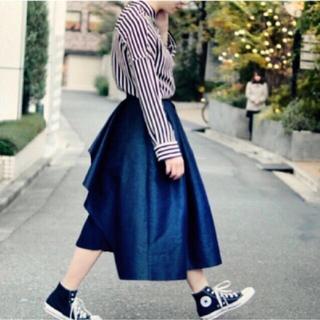 TSURU by Mariko Oikawa - 美品☆ SHE Tokyo シートウキョウ Kelly denim 34