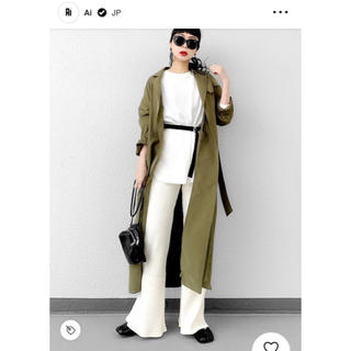moussy - MOUSSY GOWN TRENCH JK F トレンチコート