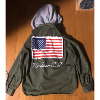 RODEO CROWNS WIDE BOWL - RCWBフード付きミリタリージャケット