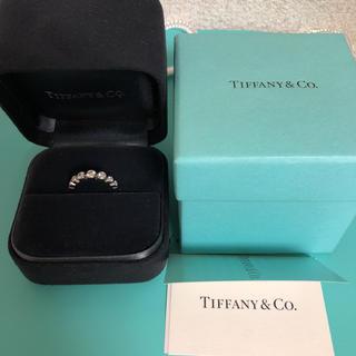 ティファニー(Tiffany & Co.)のティファニー ジャズ グラジュエイテッド バンドリング (リング(指輪))