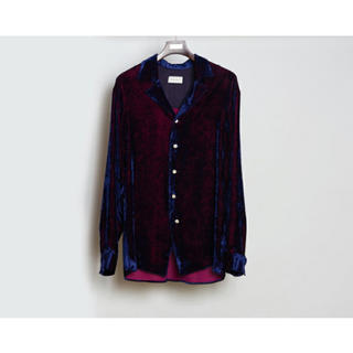 JOHN LAWRENCE SULLIVAN - 19aw BED.JW.FORD ベッドフォード VELVET SHIRT