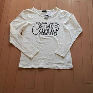 ジェニィ(JENNI)の新品未使用タグ付きJenniジェニー白長袖Tシャツ165サイズ(Tシャツ(長袖/七分))