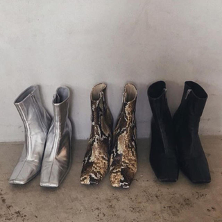 Ameri VINTAGE - アメリヴィンテージ SQUARE HELPFUL BOOTS