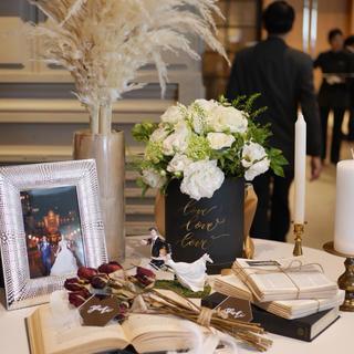 ヴェラウォン(Vera Wang)の結婚式/ウェルカムスペースセット☻(ウェルカムボード)