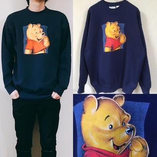 Disney - 90's disny Pooh くまのプーさん スウェット  ディズニー
