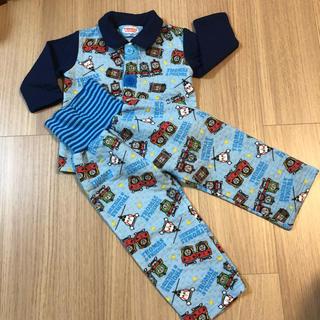 【秋冬】きかんしゃトーマス キルティング パジャマ 90cm