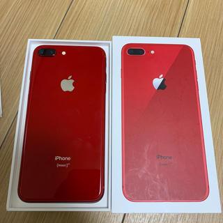 セール価格!iPhone8plus 64GB red SIMフリー
