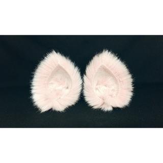 【 ピンクネコミミ 】ヘアピンねこみみ◆桃色のねこ耳◆頭の髪に着けられる猫耳(ヘアアクセサリー)