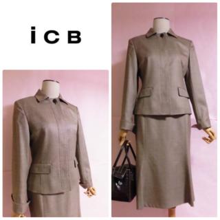 ICB - 【ICB/アイシービー】上質スカートスーツ☆上品☆きちんと感