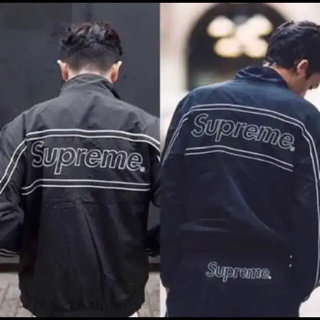 Supreme - supreme 17aw Piping Track Jacket 即完売.