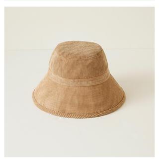 シールームリン(SeaRoomlynn)のCORDUROY BUCKET HAT(ハット)