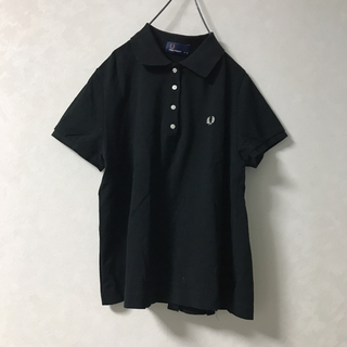 FRED PERRY - フレッドペリー ポロシャツ 黒