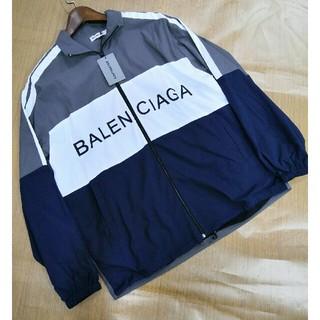 バレンシアガ(Balenciaga)の♥入手困難 バレンシアガ トラックジャケット M 正規品 (ナイロンジャケット)