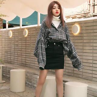 GRL - 黒ミニタイトスカート